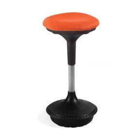 Siedzisko dynamiczne Unique Sitool 303. Stołek balansujący pozycja podniesiona.