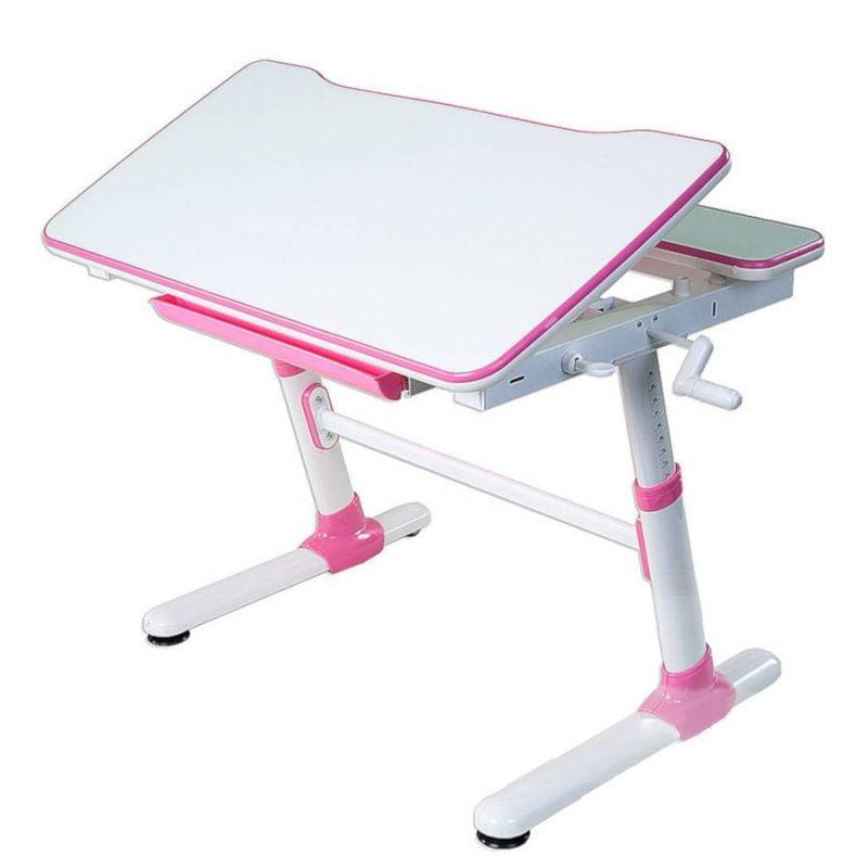 Biurko regulowane dla dziecka Fun Desk Carezza Pink 2
