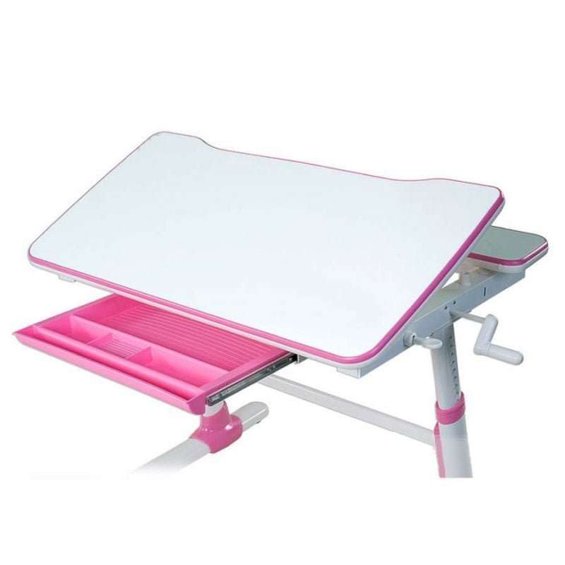 Biurko regulowane dla dziecka Fun Desk Carezza Pink 7