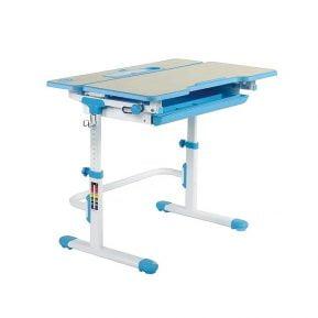 Biurko regulowane dla dziecka Fun Desk Lavoro L Blue