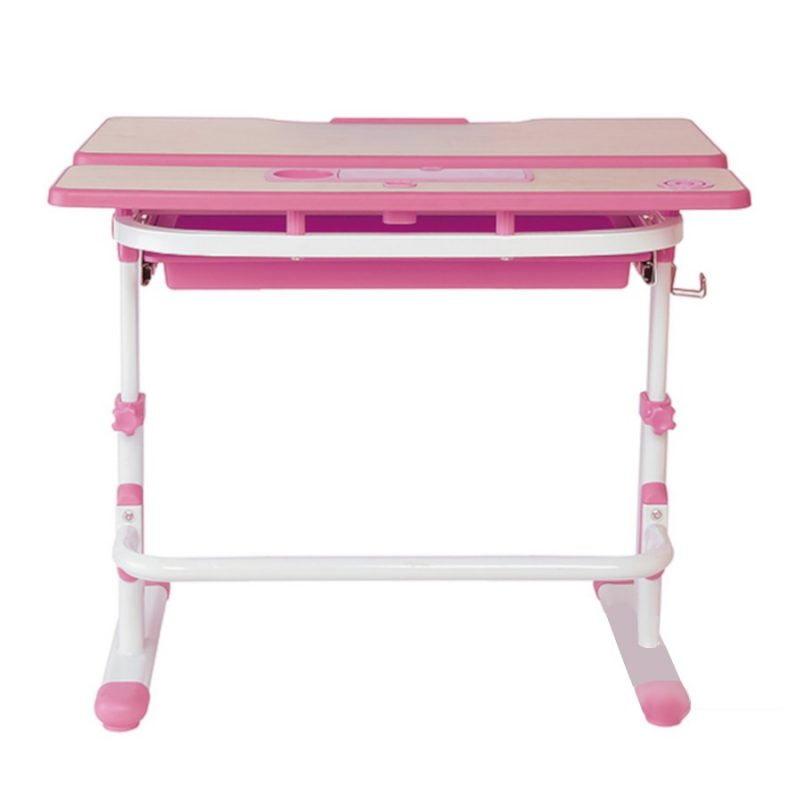 Biurko regulowane dla dziecka Fun Desk Lavoro L Pink 2