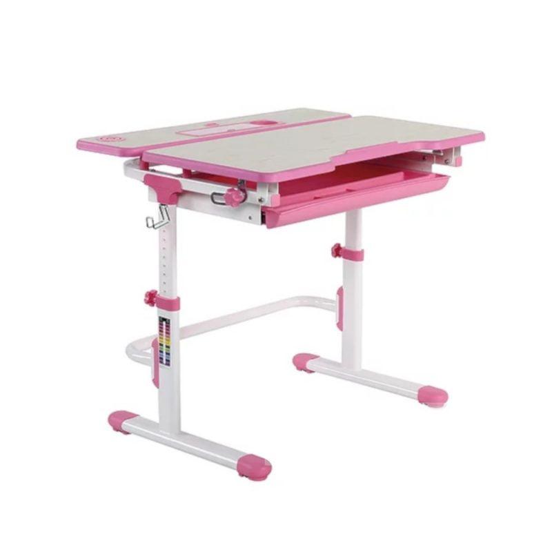 Biurko regulowane dla dziecka Fun Desk Lavoro L Pink