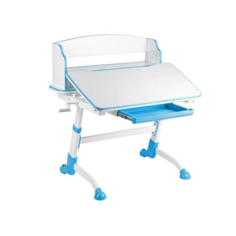 Biurko regulowane z nadstawką Fun Desk Volare II Blue