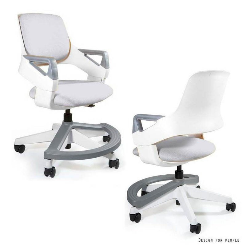 Unique Rookee BL416-SNOWY ergonomiczne krzeslo do biurka dla dziecka