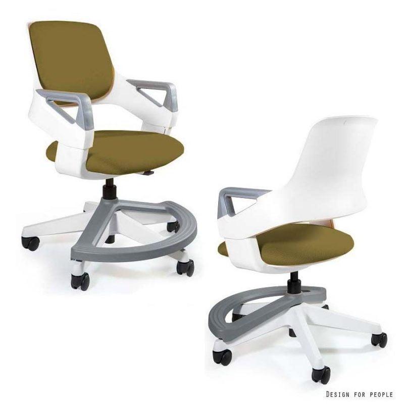 Jakie krzeslo do biurka dla dziecka Unique Rookee BL408 KHAKI