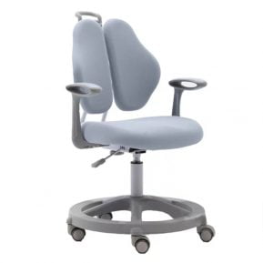 Krzesło ergonomiczne dla dziecka Vetta II Grey z przodu