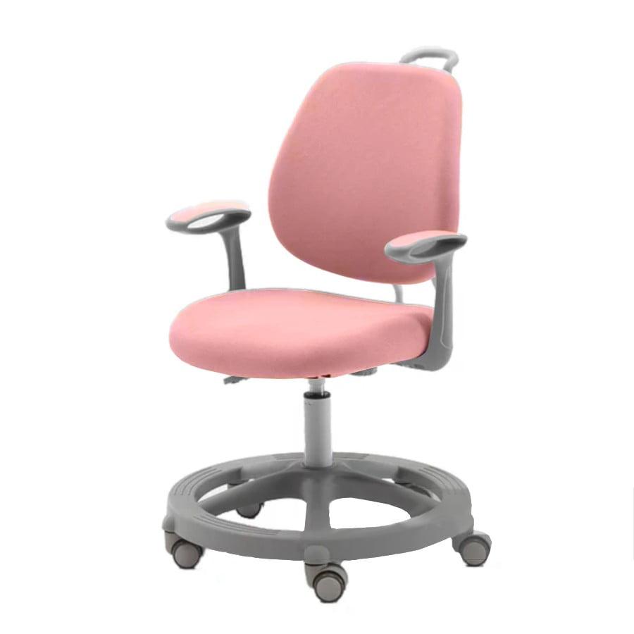 Krzesło ergonomiczne dla dziecka Pratico Pink z boku