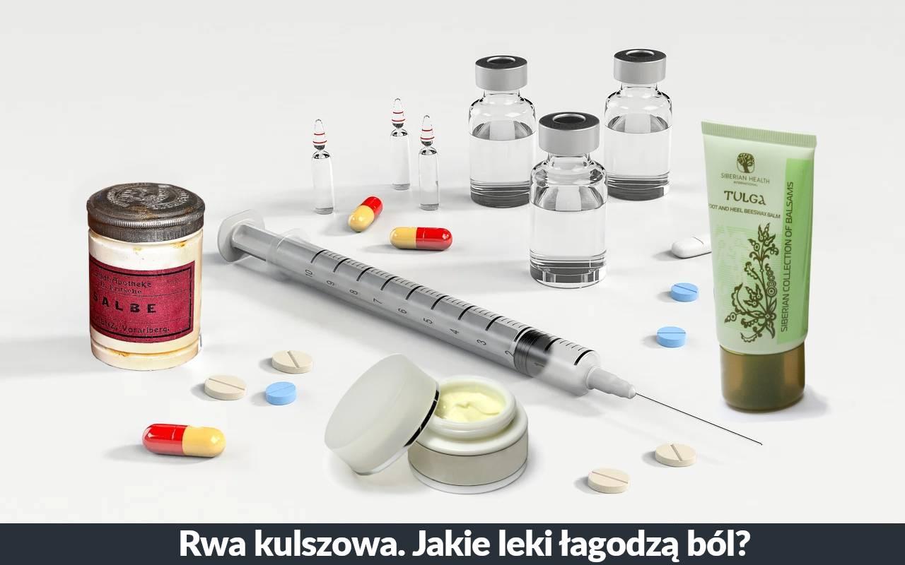 Przeciwbólowe leki na rwę kulszową. Jakie leki na ból przy rwie kulszowej?