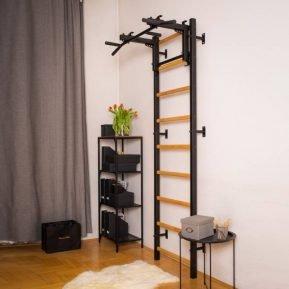 Drabinka gimnastyczna BenchK 221B czarna do pokoju